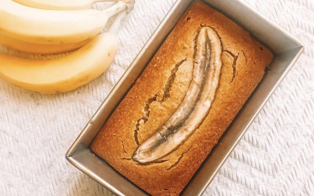 Şekersiz Muzlu Ekmek (Sugar-Free Banana Bread)