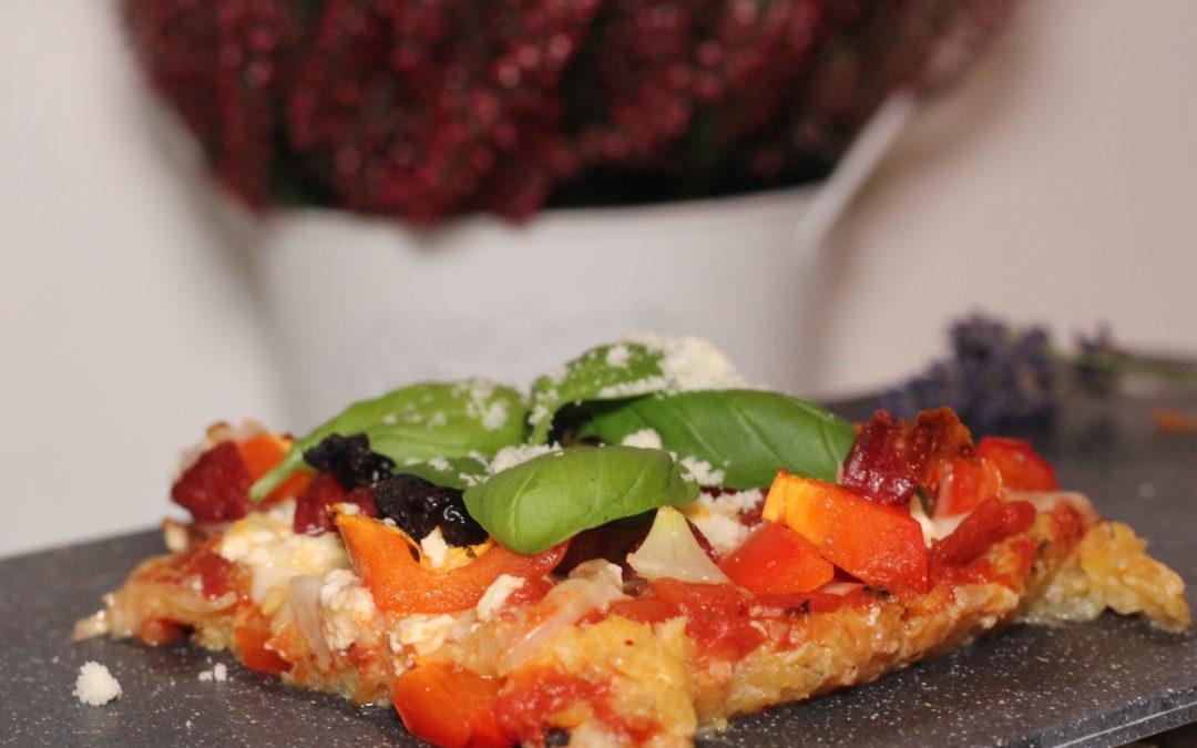 Glutensiz Kabak Pizza